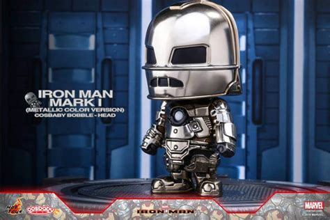 Toys Cosbaby Iron I Metallic Colour Version Bobble square toys artist mix cosbaby snap kits bust cosbaby iron i