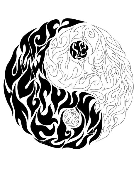 online yin yang coloring pages coloring yin yang details tibet coloring pages for