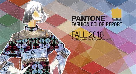 fall  pantone fashion color report