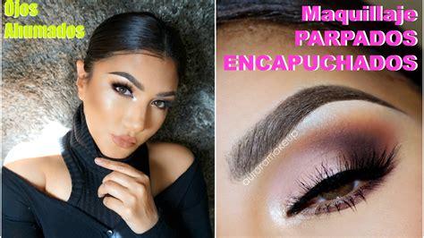 tutorial youtube maquillaje maquillaje ojos ahumados parpados caidos smokey eye