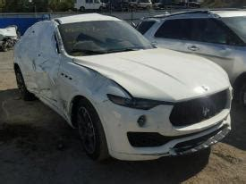 Salvage Maserati by Salvage Maserati Cars For Sale And Auction