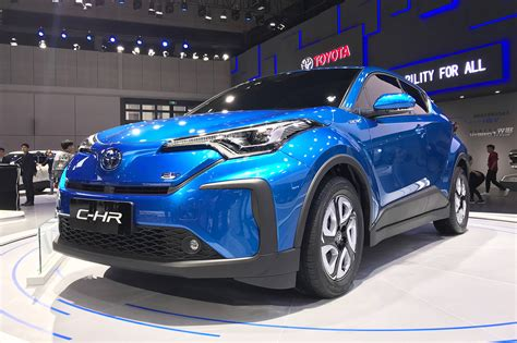 toyota  hr ev  shanghai motor show debut auto