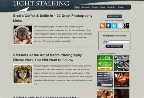 Links To Stalk 27 by Resources 27 Awesome Photography Blogs To Follow