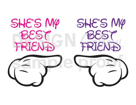 she is my 2 images she s my best friend svg cut files and jpg