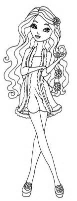 ever after high briar beauty coloring pages coloring pages
