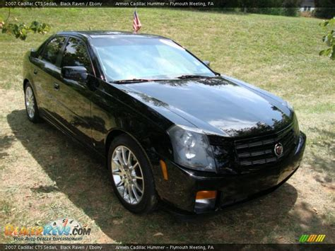 2007 cadillac cts black 2007 cadillac cts sedan black photo 4