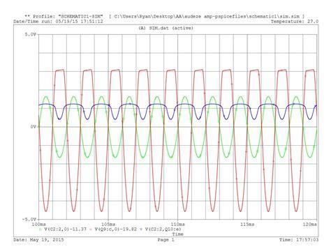 kalkulator resistor smd transistor bc547 pspice 28 images 10 watt slone lifier youspice op determining litude of a