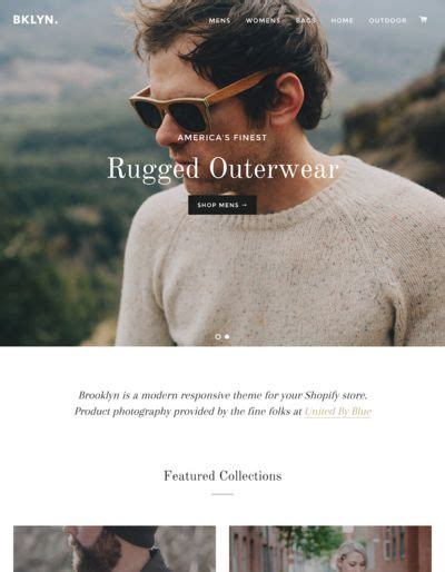 shopify themes brooklyn 10 of the absolute best free shopify themes buildify