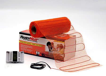 Electric Mats Underfloor Heating by Underfloor Heating Mats
