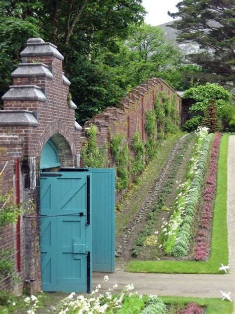 Walled Kitchen Garden Kylemore Walled Kitchen Garden