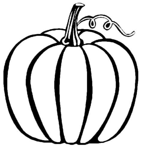 free coloring pages of pumpkin templates