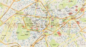 athens map athens city map