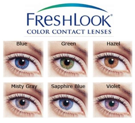 fresh look colors spice up your look with coloured contact lenses