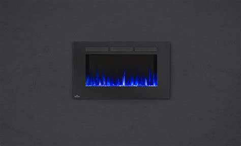 napoleon linear 42 quot nefl42fh napoleon 42 inch electric fireplace with heater