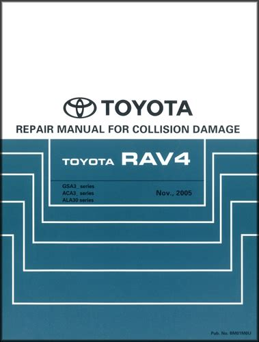 car repair manuals download 2010 toyota fj cruiser electronic throttle control 2006 2012 toyota rav4 body collision repair shop manual original