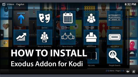 how to install videodevil add on on xbmc kodi adults only exodus add on kodi xbmc how to install exodus on kodi