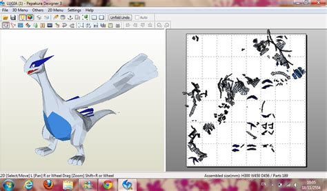 Lugia Papercraft - lugia wip by armmm9 on deviantart