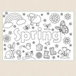 spring colouring sheet cleverpatch