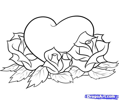how to draw a tattoo rose step by step how to draw hearts and roses step by step tattoos pop
