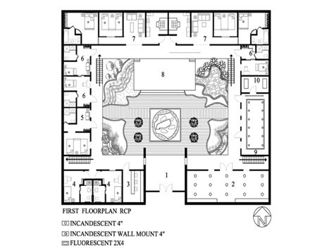 style home plans with courtyard small courtyard house design home decor also for images