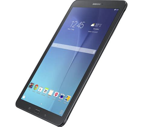 buy samsung galaxy tab e 9 6 quot tablet 8 gb black free delivery currys