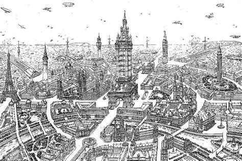 Ballard Design Art have our visions of future cities become more positive