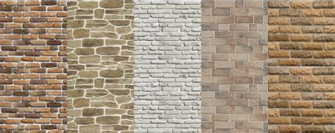 Rock Wall Mural sims 4 bricks walls