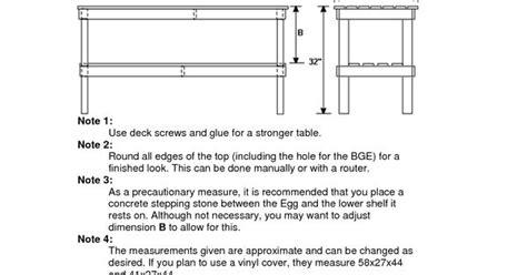 big green egg tables blueprints wooden large big green egg table dimensions diy blueprints