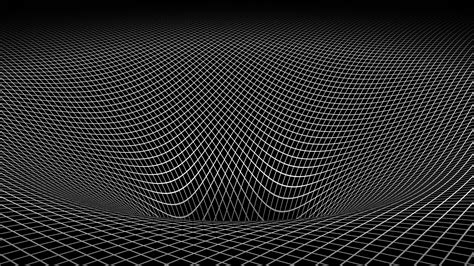 wallpaper 3d black and white abstract black and white gravity hole 3d warped wallpaper