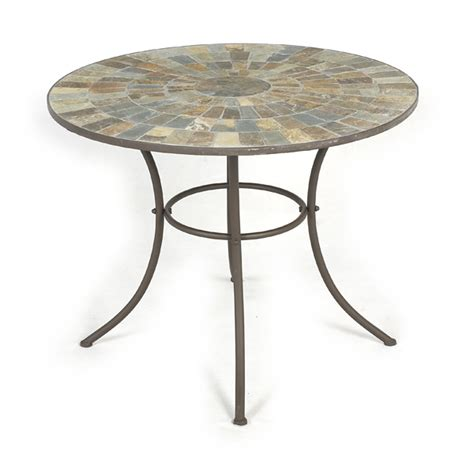 Outdoor Patio Table Ls Ellister Mosaic Patio Table 80cm On Sale Fast Delivery Greenfingers
