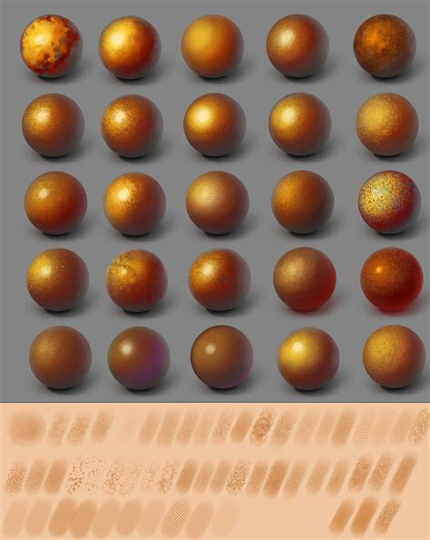 Skin Food Pack Brush sai skin texture pack 54 by hitryi pryanik on deviantart