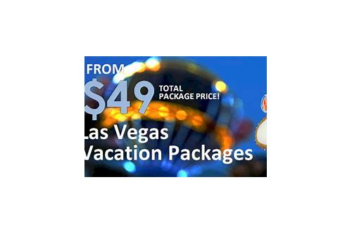 vegas package deals for 4