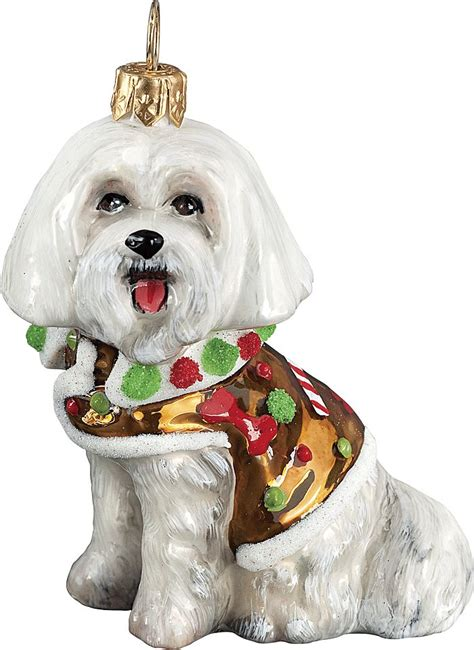 Maltese Ornaments - 1000 images about i maltese dogs on