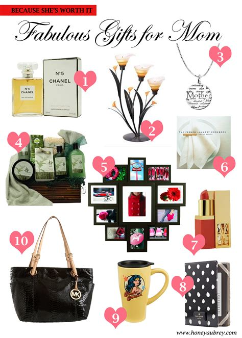 gift idea for mom mother s day gift ideas love honey