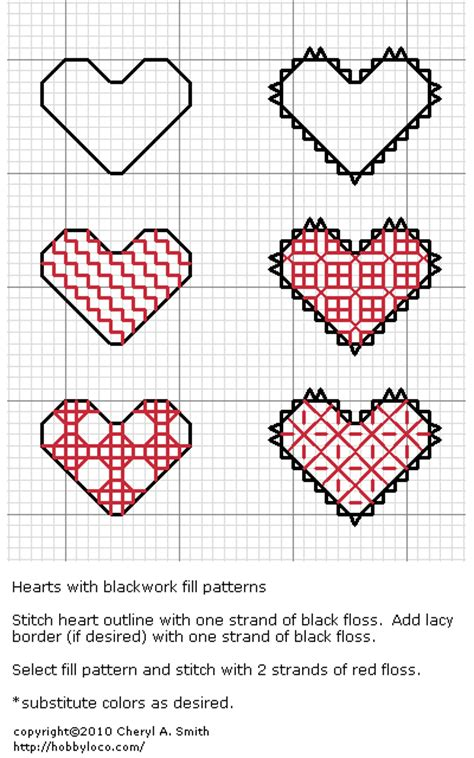 heart pattern for cross stitch blackwork hearts blackwork pinterest