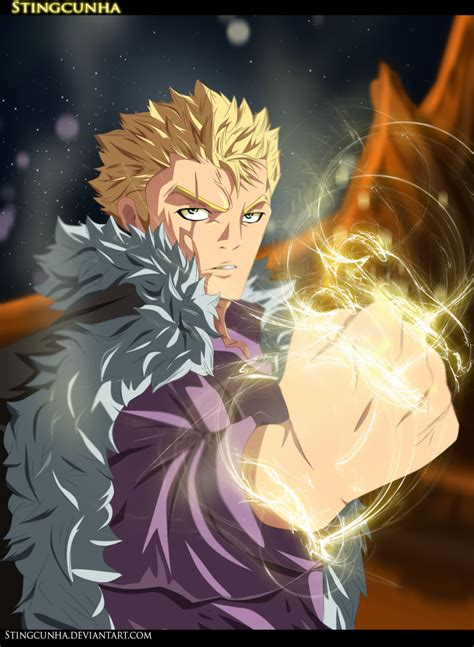 laxus dreyar fairy tail 357 by stingcunha on deviantart