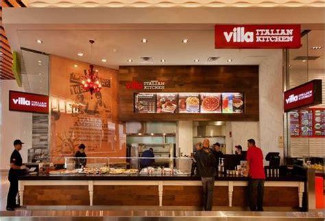 Kitchen Mall 34 new villa italian kitchen restaurants now open in malls