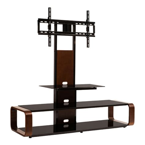 80 Inch Tv Stand With Mount by Transdeco 3 In 1 Tv Stand With Mounting System For 35 80