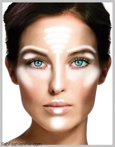 Where To Highlight How To Highlight And Contour Your With Makeup Like A