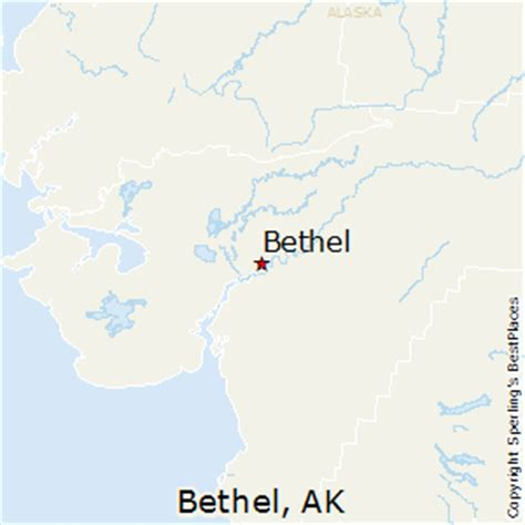 bethel alaska usa map best places to live in bethel alaska