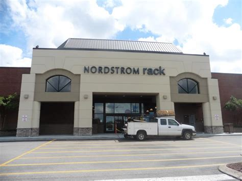 nordstrom rack installs sign announces grand opening
