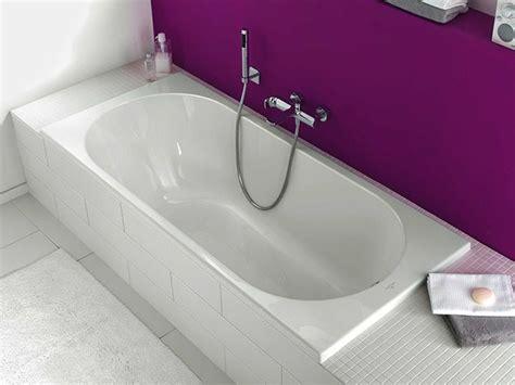 baignoire encastrable rectangulaire en acrylique o novo