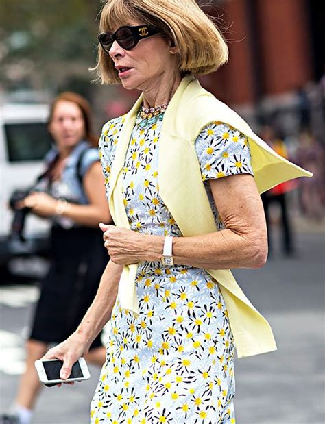 anna wintour whowhatwear the latest street style photos from new york fashion week