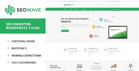 seo wave wordpress theme for search engine optimization