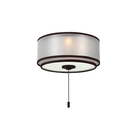 Monte Carlo Ceiling Fan Light Kits Monte Carlo 3 Light Bronze Ceiling Fan Light Kit Mc236rb The Home Depot