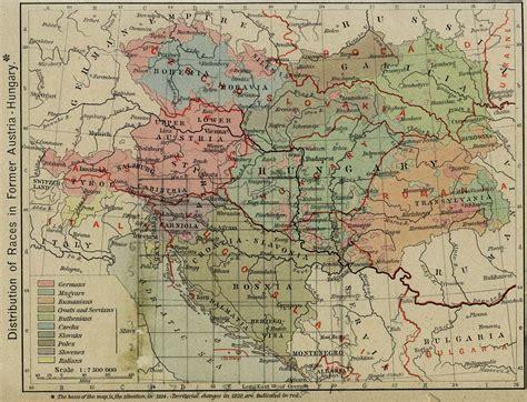 austria hungary map 1900 whkmla historical atlas austria hungary page