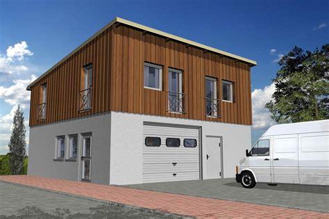 garage wohnen 3ls garagenhaus magnum futura