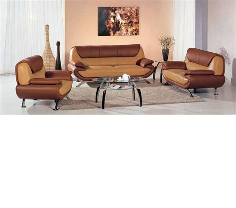 dark brown living room furniture dreamfurniture com 7040 modern light brown dark brown