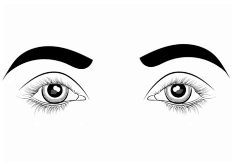 eyes printable coloring pages coloring page eye img 9526 coloring download eyeball