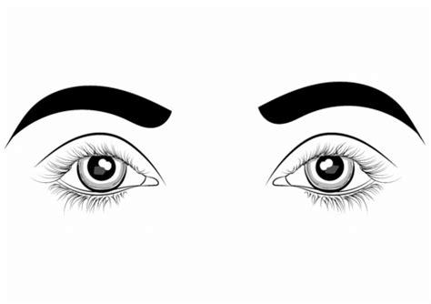 coloring page of eyes free download dibujo de ojos para colorear barrakuda info